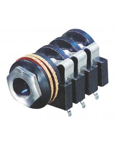 Connecteur stéréo 6.35 mm...