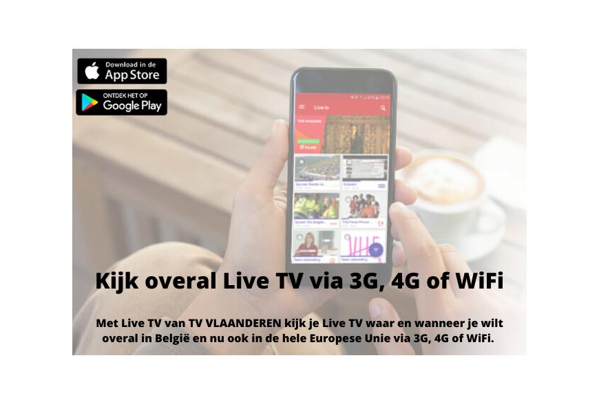 Live TV-kijken waar en wanneer je wilt