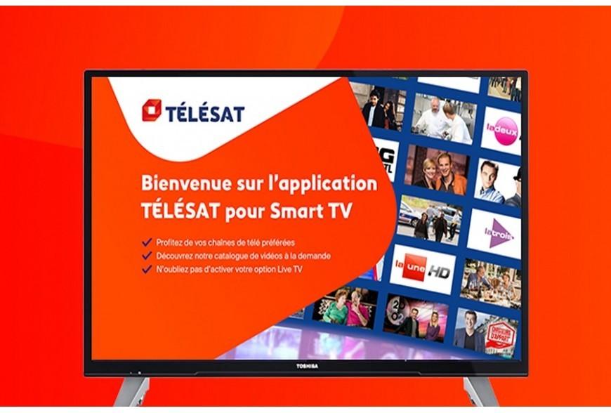 Activez Télésat  sur tous vos écrans